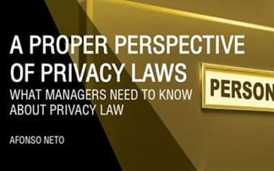 A Proper Perspective on Privacy Laws